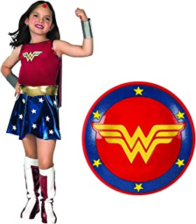 Rubies Super DC Heroes Wonder Woman Child's Costume and Shield