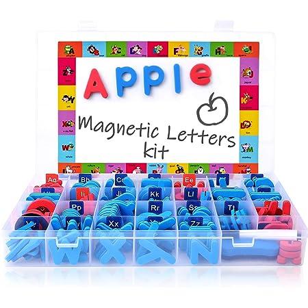 208 PCS Double Side Magnetic Letters Kit Magnet Board Foam Alphabet Classroom Sp