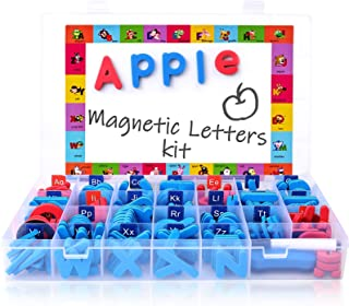 Magnetic Letters Kit, Classroom Magnets 238 Pcs With Large Double-Side Magnet Board And Storage Box, Foam Alphabet Abc For...