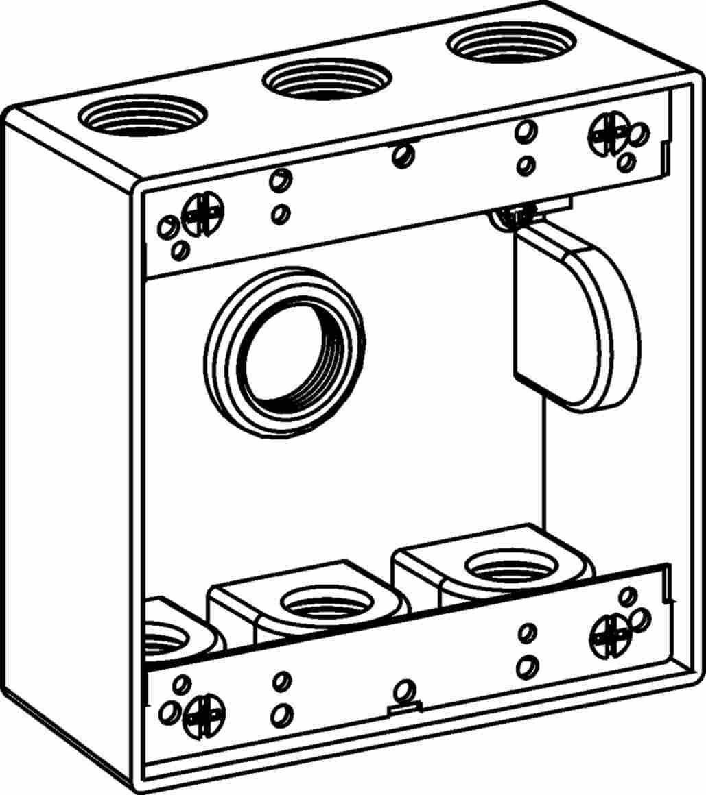 Orbit 2B75-7 Electric Box 2