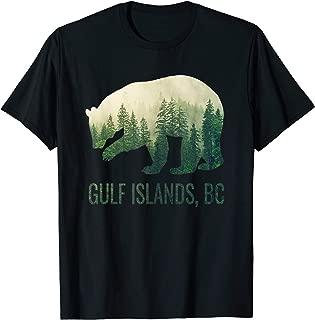 Gulf Islands BC Bear PNW British Columbia Canada T-Shirt