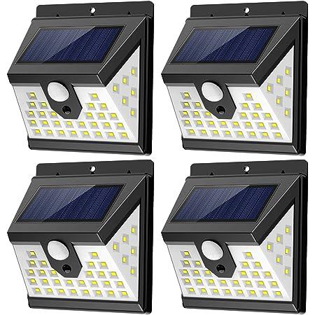 436 LED Solar Powered Lights Outdoor Security Bright PIR Motion Sensor Lamp
