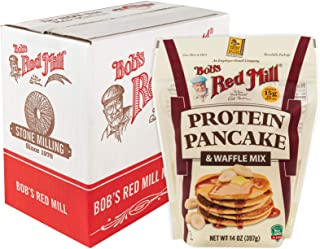 Bob's Red Mill Resealable Protein Pancake & Waffle Mix, 14 Oz (4 Pack)