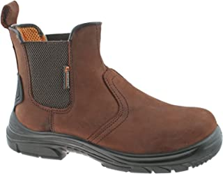 TIMBERLAND PRO Sawhorse SBP brown dealer Steel Toe Cap safety boots  size 6-14