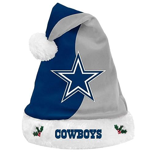 NFL Football Team Logo Basic Holiday Plush Santa Hat 9247f619a