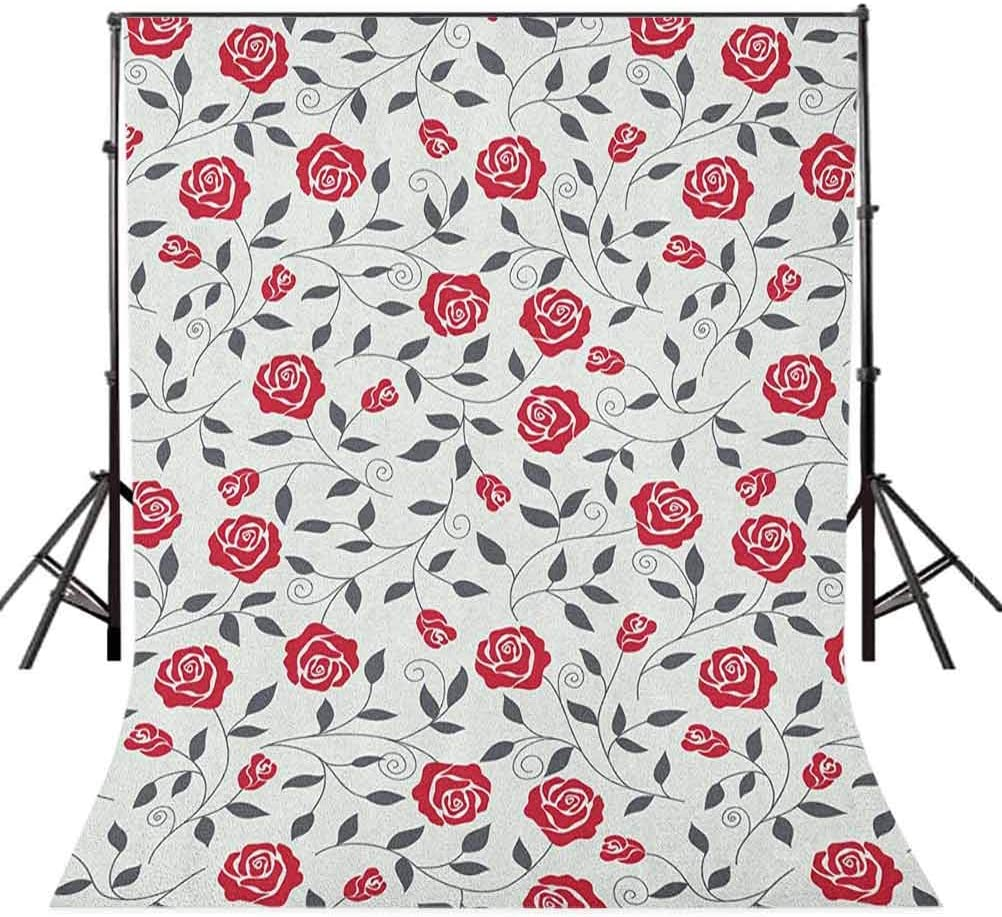 8x12 FT Cars Vinyl Photography Background Backdrops,Love Themed Vibrant Colored Cute Cars with Little Red Hearts Mini Steering Wheels Background for Selfie Birthday Party Pictures Photo Booth Shoot