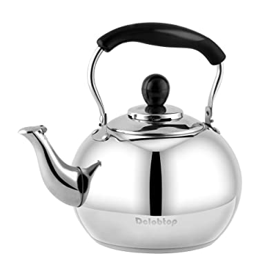 Stove Top Whistling Tea Kettle Classic teapot a...