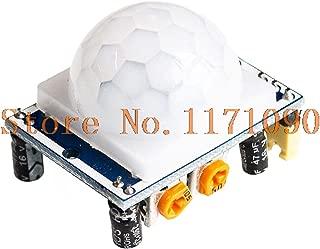 DIYUKMALL 10PCS SR501 HC-SR501 Adjust IR Pyroelectric Infrared PIR Module Motion Sensor Detector Module forarduino