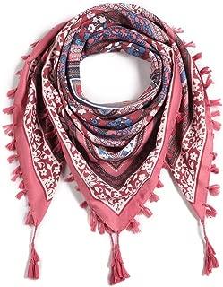 Women Tassel Scarf Cotton Bohu Style- 43