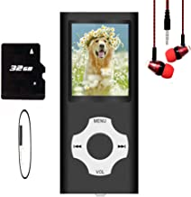 MP3 Player / MP4 Player, Hotechs MP3 Music Player with 32GB Memory SD Card Slim Classic Digital LCD 1.82'' Screen Mini USB... photo