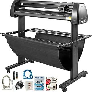 VEVOR Vinyl Cutter 28 inch Vinyl Cutter Machine 720mm Manual Vinyl Printer LCD Display Plotter Cutter Sign Cutting with Signmaster Software