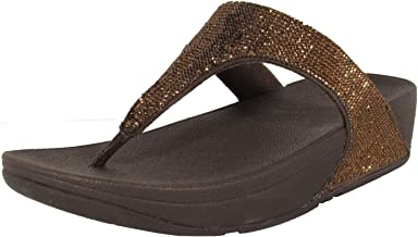 FITFLOP Womens Electra Micro Microfiber Slip-On Thong Sandals