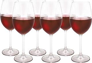 Taças Para Vinho Tinto Bohemia Transparente