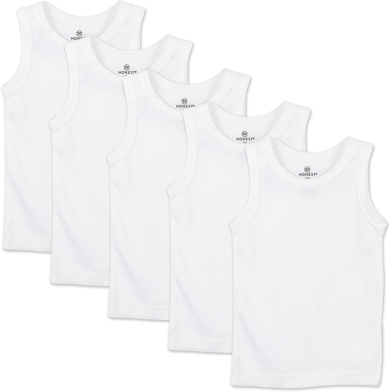 HonestBaby Baby Muscle Tee Sleeveless T-Shirt Multi-Packs