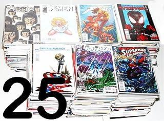 HUGE COMIC BOOK LOT 25 MARVEL DC INDY SUPERMAN BATMAN X-MEN