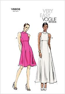Patrón de costura de moda para señoras 9218 Camisola vogu.. camisones Pantalones /& Vestido