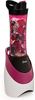 Oster BLSTPB-WPK My Blend 250-Watt Blender with Travel Sport Bottle, Pink