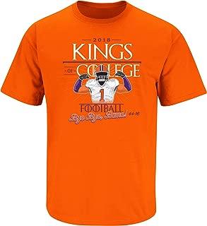 Nalie Sports Clemson Football Fans. The Kings of College Football. Orange T Shirt (Sm-5X)