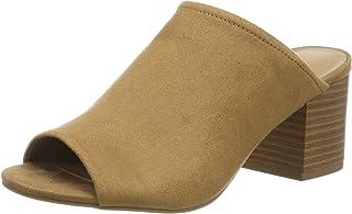 Rabisha, Zapatos de tacón con Punta Abierta para Mujer