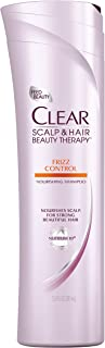 Clear Scalp and Hair Beauty Therapy Frizz Control Nourishing Shampoo, 12.9 Fluid Ounce