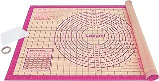 Lazymi Extra épais Tapis de Cuisson en Silicone Anti-adhésif, Grande Feuille à Patisserie Four Réutilisable, 71 x 51 cm Ta...