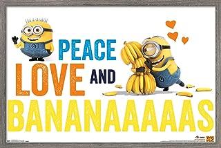 Trends International Illumination Minions - Bananas Wall Poster, 22.375