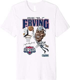 BIG3 Dr. J Caricature T-Shirt