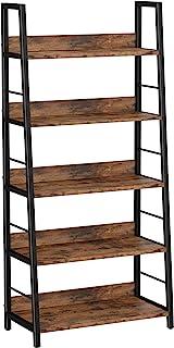 IRONCK Industrial Bookshelves and Bookcases Ladder Shelf...