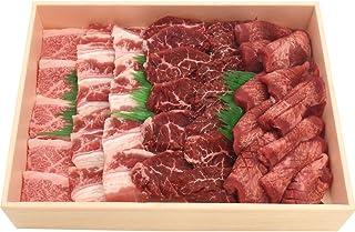 焼肉 食べ比べセット 1kg 3種4品 神戸牛 入り 焼肉セット 牛タン カルビ ハラミ ( サガリ ) BBQ 牛肉 肉セット バーベキュー 約 5人前 お取り寄せグルメ ギフト 熨斗対応 クール便 冷凍 お届け