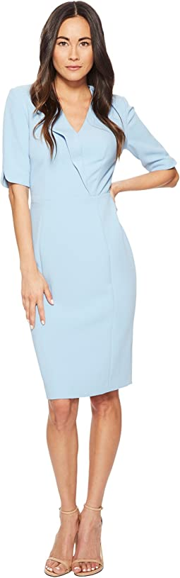 Tahari by ASL - Fold Over Collar Sheath