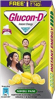 Glucon D Instant Energy Health Drink Nimbu Pani - 1kg Refill (Sipper Free)