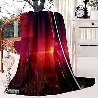 Dreams in Pastel Bed Blanket Plush Velvet Soft Warm Blanket Lightweight Microfiber Cozy Blanket Christmas Blanket for Bed ...