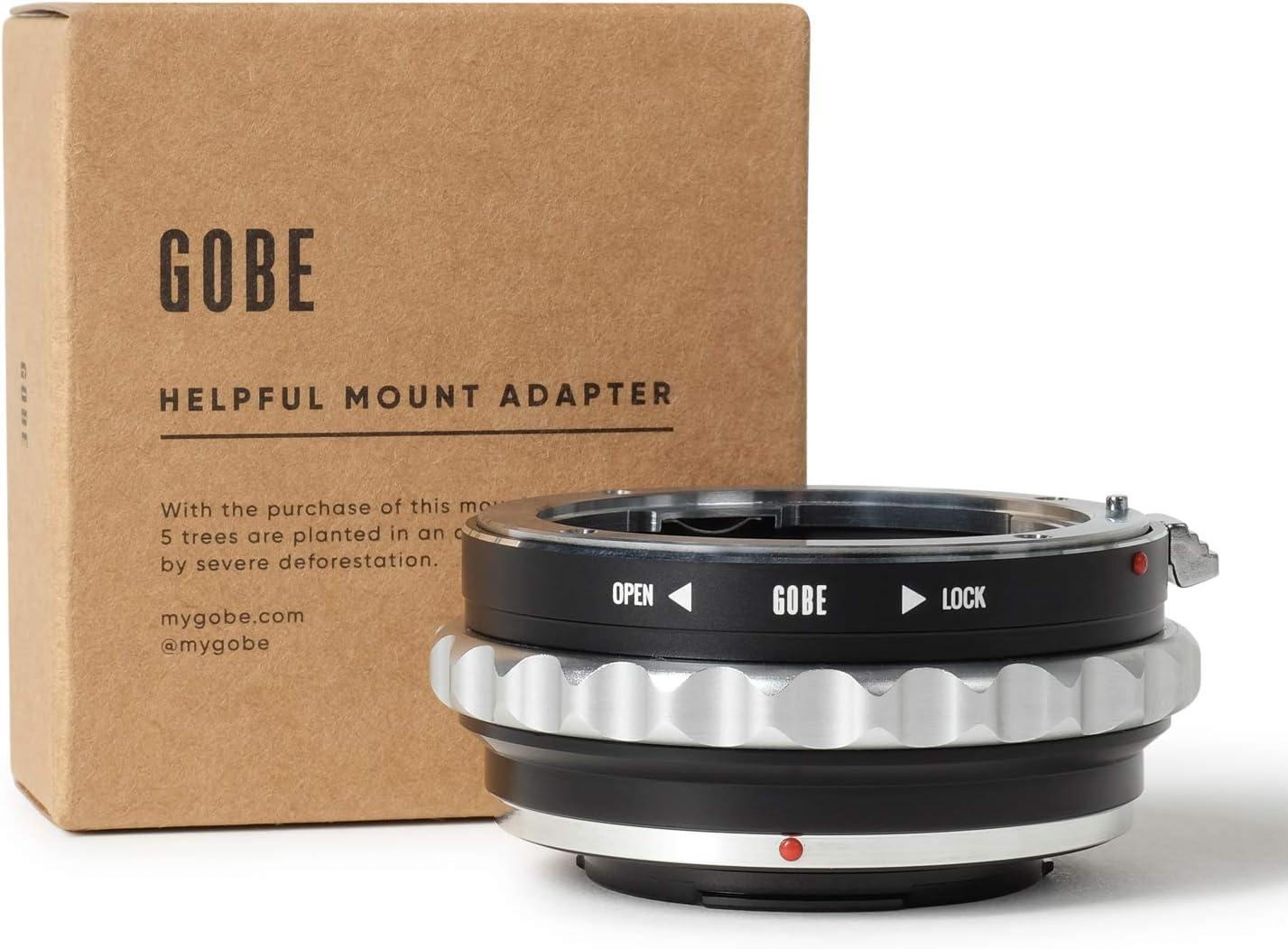 Gobe Fujifilm X Lens Mount Adapter Black Elektronik