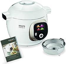 Krups CZ7101 Cook4Me+ multikoker, 1600 watt, Elektrische Snelkookpan, incl. receptenboek, Koken Onder Druk voor Snelle en ...