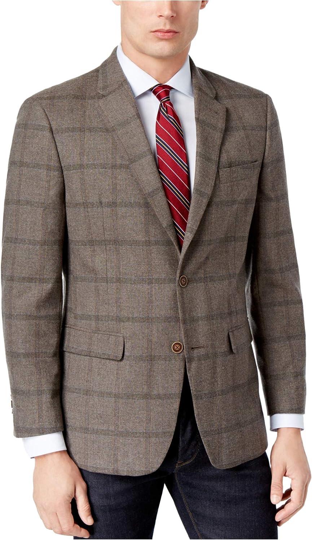 Tommy Hilfiger Mens Slim-Fit Two Button Blazer Jacket