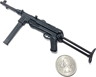 "4D 1/6 Scale MP40 Submachine Gun Nazi Germany WWII Miniature Toy Guns Model Fit for 12"" Action Figure"