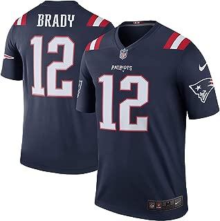 Tom Brady New England Patriots Color Rush Navy Blue Nike Legend Dri-FIT Jersey - Men's 2XL (XXL)