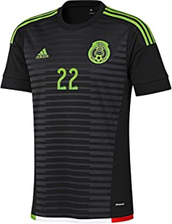 P. Aguilar #22 Mexico Home Soccer Jersey 2015