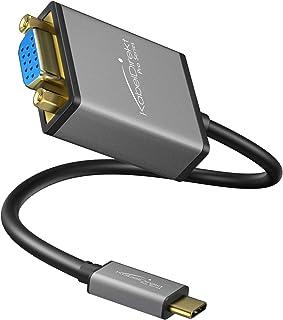 MCL USB31-CM//40FCE Cavo di interfaccia e Adattatore USB 3.1 С VGA Bianco