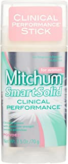 Mitchum For Women Smart Solid Anti-Perspirant Deodorant Powder 2.50 oz (Pack of 3)