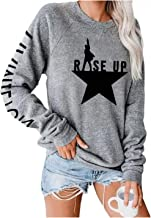 Musicals Hamilton Women's Long Sleeve Round Neck Casual Loose Sweater Fashion Sports