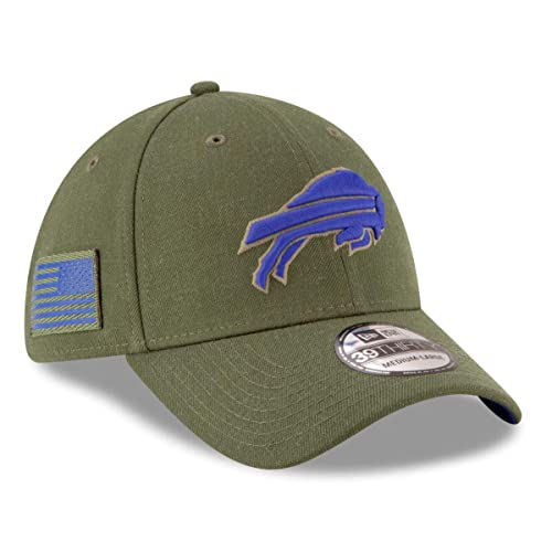 cheap for discount 8b6c3 25362 New Era Mens NFL 2018 Salute to Service 39Thirty Flex Fit Hat