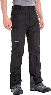 Clothin Men's Insulated Ski Pant Fleece-Lined Waterproof Snow Pants