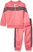 adidas Baby Girls Tricot Jacket and Jogger Pant Set