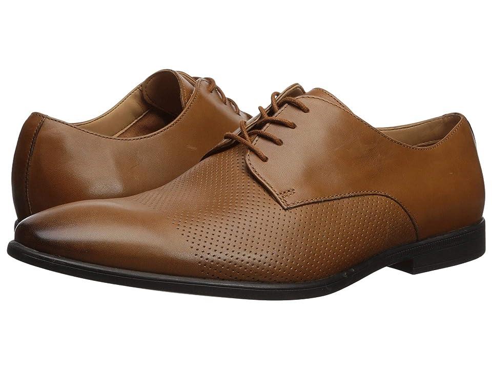 Clarks Bampton Cap (Tan Leather) Men
