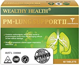 Wealthy Health-PM Lung Support 60 Tablets
