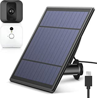 MASCARRY Solar Panel for Blink XT XT 2 Security Camera, Wall Mount Outdoor Weather Proof Solar Power Charging Panel for Bl...