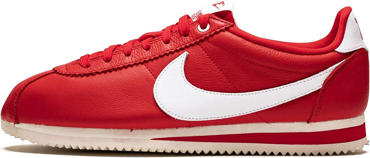 Nike Cortez Rojo Blanco Blanco Shoes