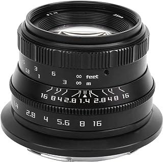 Soczewka do aparatu bezlusterkowego, 35 mm obiektyw F1,4, przenośny, trwały stop aluminium czarny uchwyt Z do kamery Nikon...