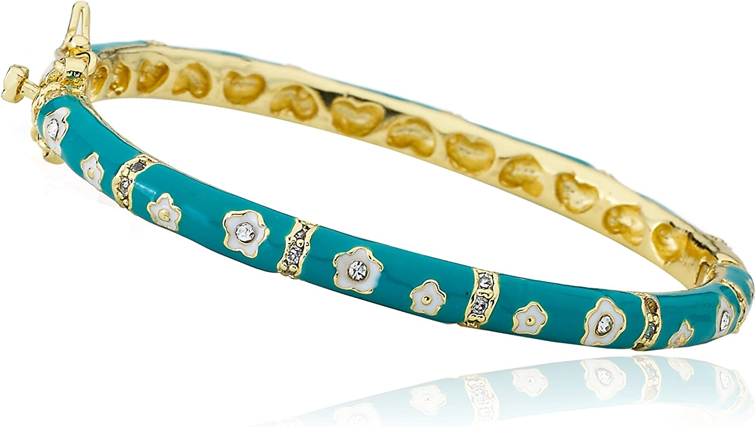 Little Miss Twin Stars Los Angeles Mall Choice Outfit Gold-Plated Makers B 14k Turquoise